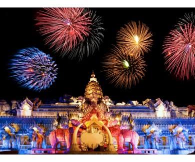 Фотообои Дворец слонов