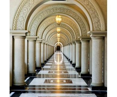 Фотообои Аллея под арками
