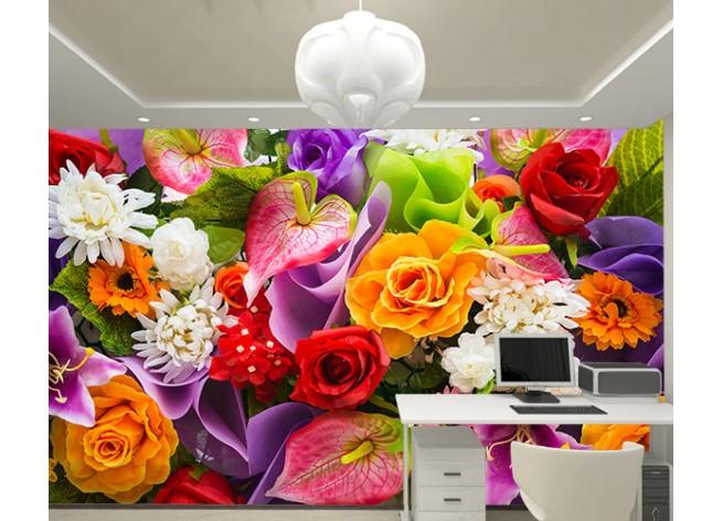 Фотообои Искуственные цветы