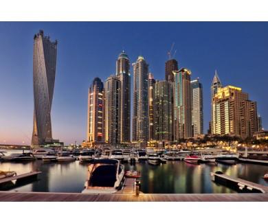 Фотообои Дубай Марина - район в Дубае