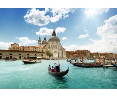 Фотообои Гранд-Канал и базилика Санта-Мария-делла-Салюте