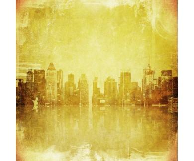 Фотообои Гранж изображения из Нью-Йоркских небоскребов