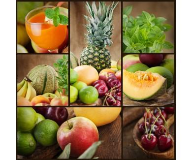 Фотообои Коллаж - фрукты