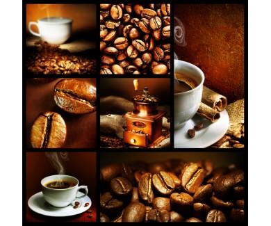Фотообои Коллаж - кофе