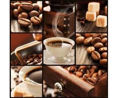 Фотообои Коллаж - кофе 2