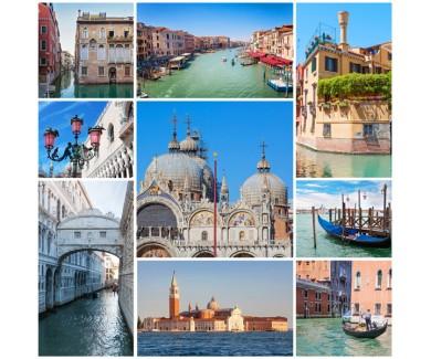 Фотообои Коллаж - Венеция