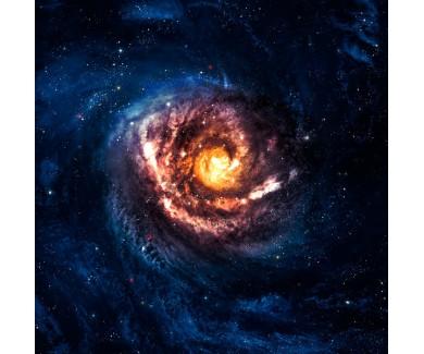 Фотообои Невероятно красивая спиральная галактика