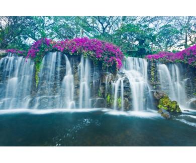 Фотообои Красивый водопад на Гаваях