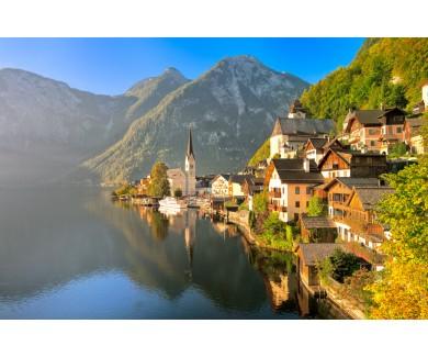 Фотообои Озеро Гальштат, Австрия