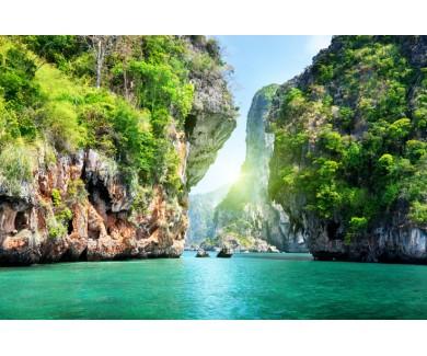Фотообои Скалы и море в Краби, Таиланд
