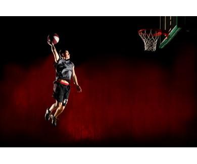 Фотообои Баскетболист в полёте