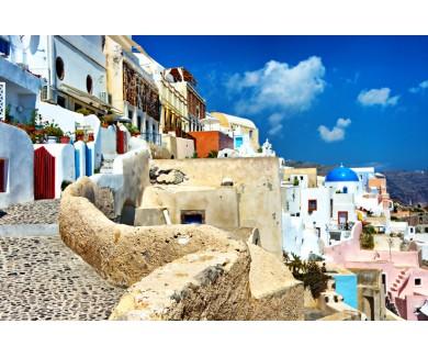 Фотообои Греческие улочки