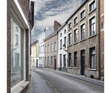 Фотообои Улица Брюгге