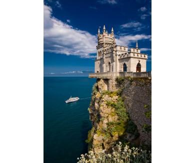 Фотообои Известный замок Ласточкино Гнездо, в районе Ялты