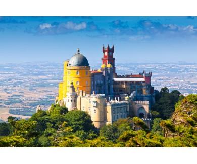 Фотообои Национальный дворец в Синтре, Португалия