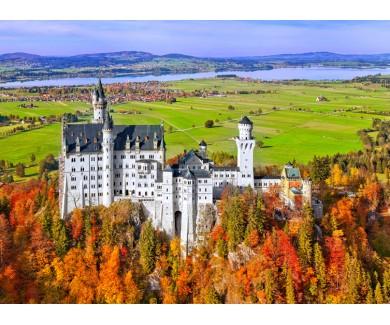 Фотообои Замок Нойшванштайн в Германии