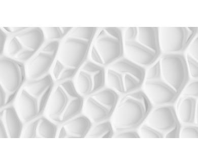 Фотообои Белая 3D текстура