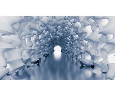 Фотообои Белый тунель