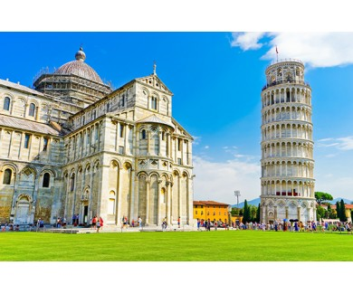 Фотообои Вид на собор Пизы и Пизанскую башню