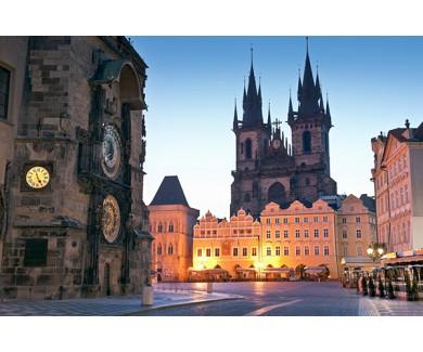 Фотообои Городская площадь в Праге