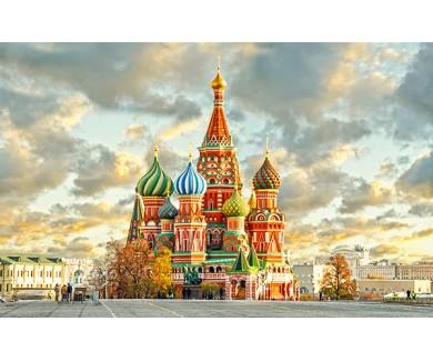 Фотообои Красная площадь и храм
