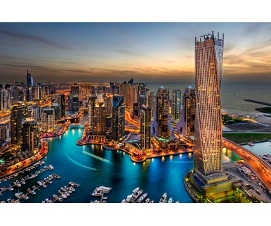 Фотообои Ночной Дубай