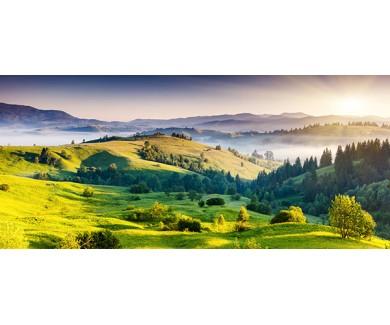 Фотообои Величественный закат в горах
