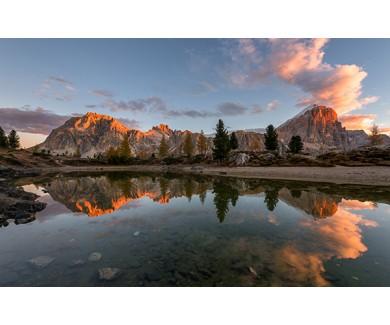 Фотообои Вид на Доломитовые Альпы