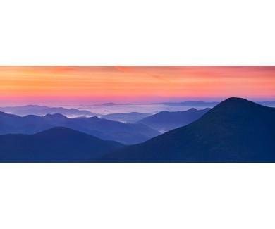 Фотообои Восход солнца в горах