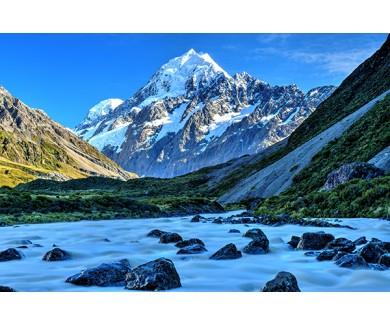 Фотообои Гора Кука, Новая Зеландия