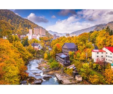 Фотообои Гостиница в горах