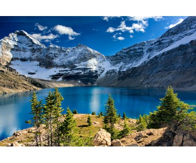 Фотообои Озеро Макартур и горы