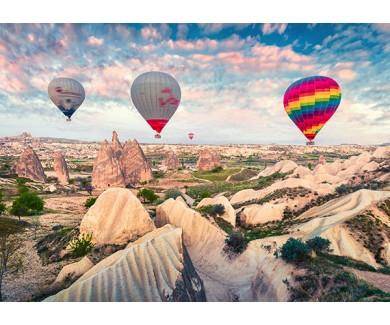 Фотообои Полет на воздушных шарах в Каппадокии