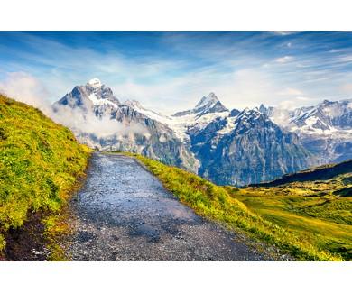 Фотообои Популярный туристический маршрут Гриндельвальд