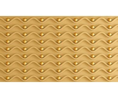 Фотообои Волны и золотые шары
