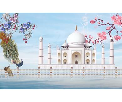 Фотообои Иллюстрация Тадж Махал