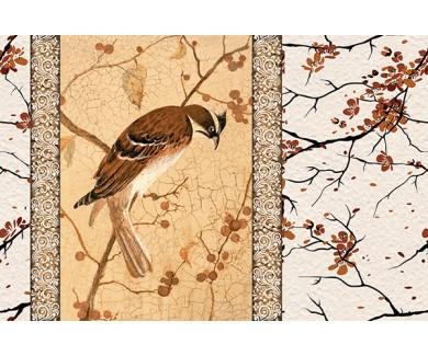 Фотообои Птица на ветке