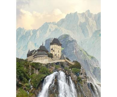Фотообои Европейский красивый замок