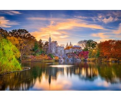 Фотообои Замок Бельведер,центральный парк, Нью-Йорк