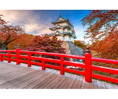 Фотообои Замок Хиросаки