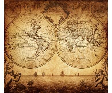 Фотообои Древняя карта
