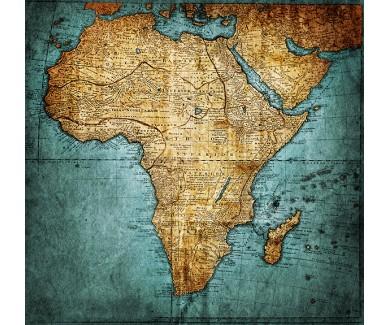 Фотообои Карта Африки