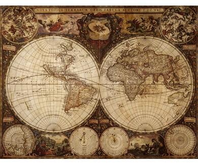Фотообои Старая карта