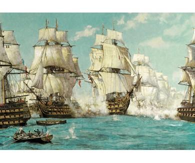 Фотообои Морской бой