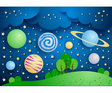 Фотообои Большие планеты