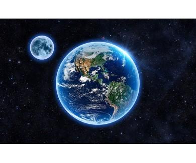 Фотообои Земля и луна