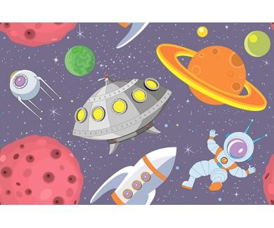 Фотообои Рисованный космос