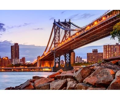 Фотообои Манхэттенский мост, Нью-Йорк