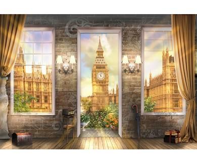 Фотообои Вид на Лондон из терассы