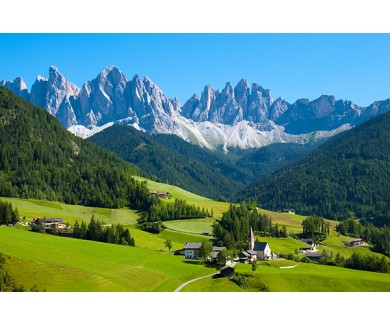Фотообои Санта-Маддалена, Альпы